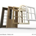 Sprossenfenster, Fenster oder Haustüren